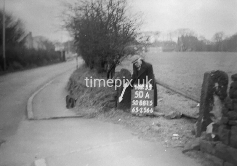 SD881550A, Ordnance Survey Revision Point photograph in Greater Manchester