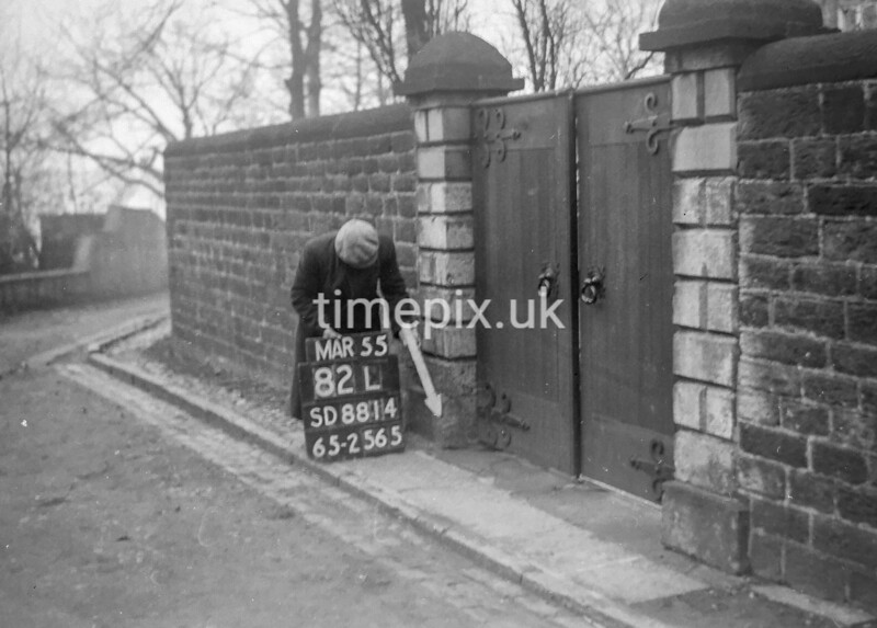 SD881482L, Ordnance Survey Revision Point photograph in Greater Manchester