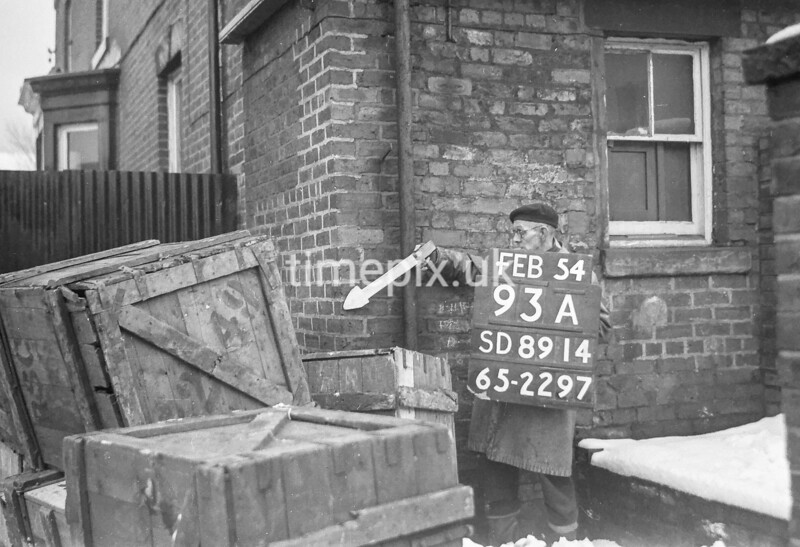 SD891493A, Ordnance Survey Revision Point photograph in Greater Manchester