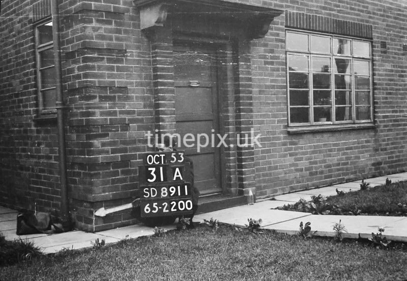 SD891131A, Ordnance Survey Revision Point photograph in Greater Manchester