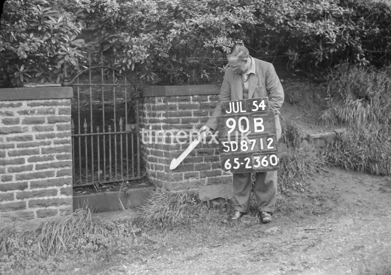 SD871290B, Ordnance Survey Revision Point photograph in Greater Manchester