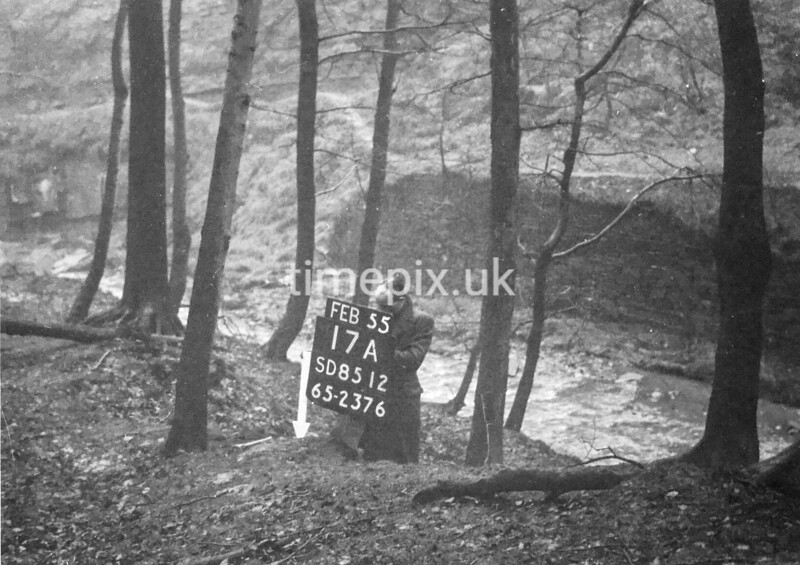 SD851217A, Ordnance Survey Revision Point photograph in Greater Manchester