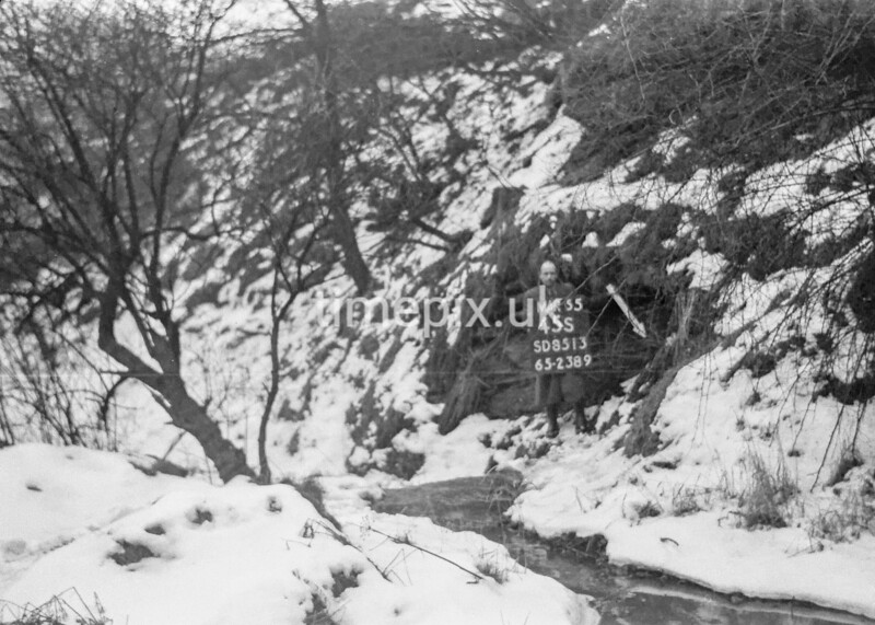 SD851345S, Ordnance Survey Revision Point photograph in Greater Manchester