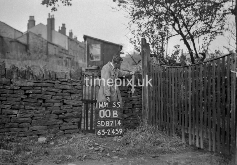 SD871400B, Ordnance Survey Revision Point photograph in Greater Manchester