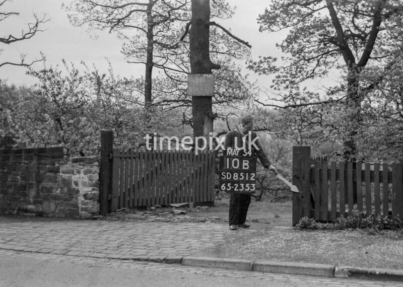 SD851210B, Ordnance Survey Revision Point photograph in Greater Manchester