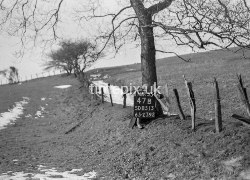 SD851347B, Ordnance Survey Revision Point photograph in Greater Manchester