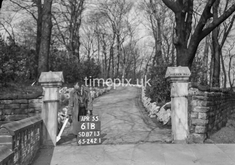 SD871361B, Ordnance Survey Revision Point photograph in Greater Manchester