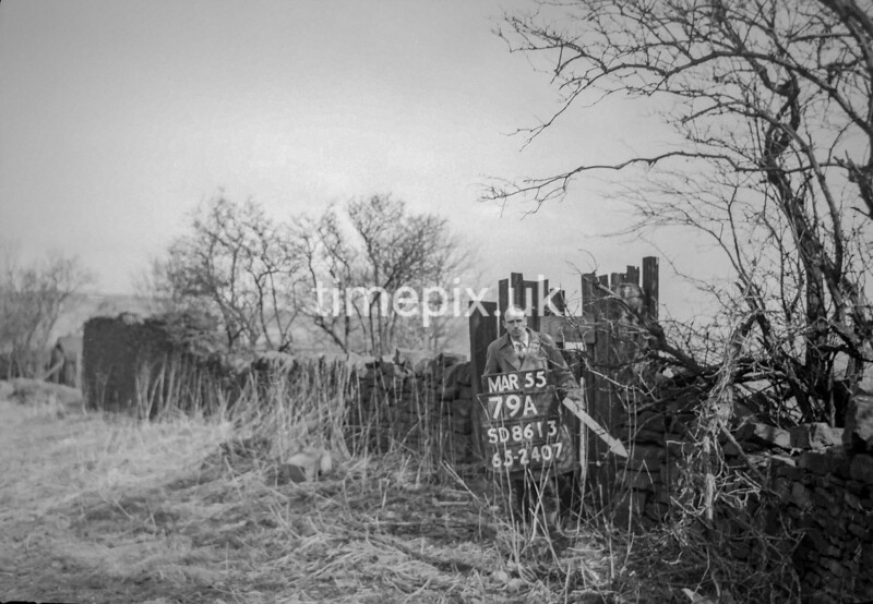 SD861379A, Ordnance Survey Revision Point photograph in Greater Manchester