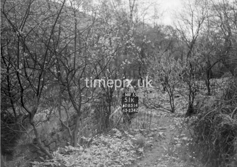 SD851451K2, Ordnance Survey Revision Point photograph in Greater Manchester