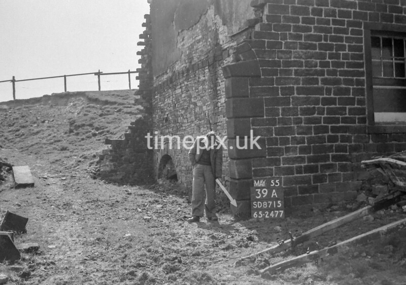 SD871539A, Ordnance Survey Revision Point photograph in Greater Manchester