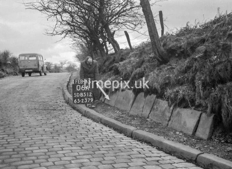 SD851206A, Ordnance Survey Revision Point photograph in Greater Manchester
