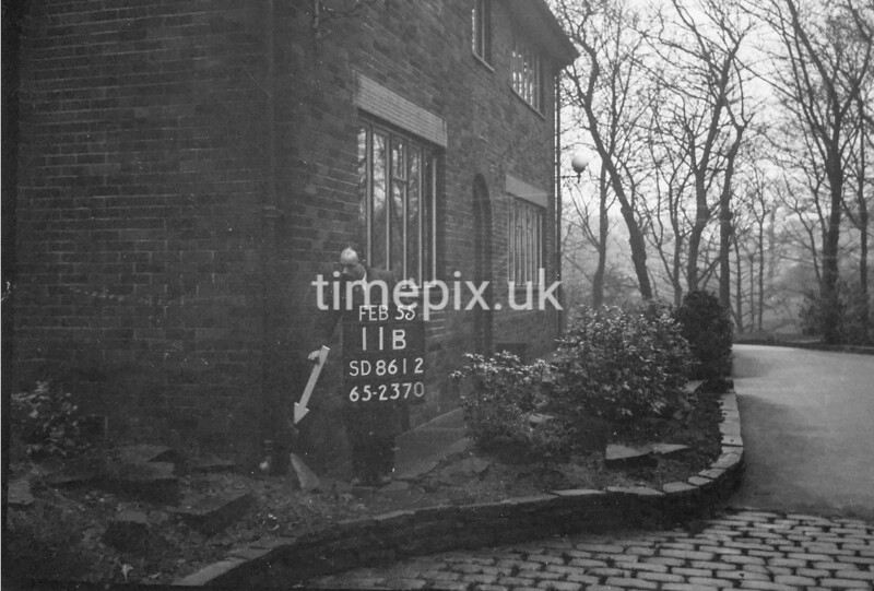 SD861211B, Ordnance Survey Revision Point photograph in Greater Manchester