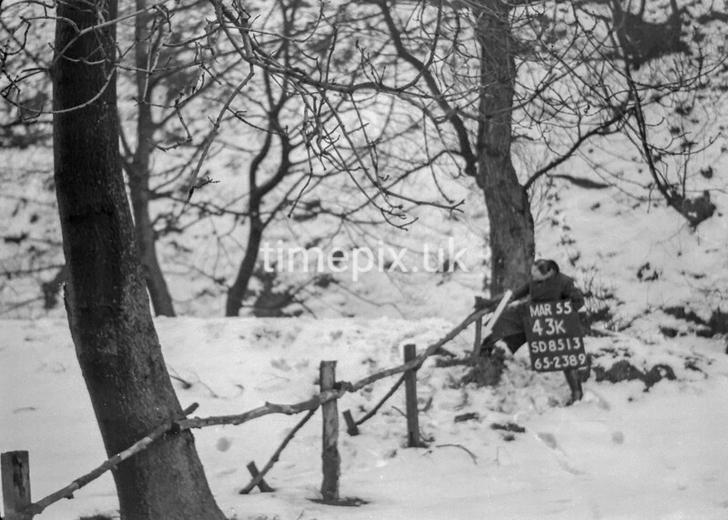 SD851343K, Ordnance Survey Revision Point photograph in Greater Manchester