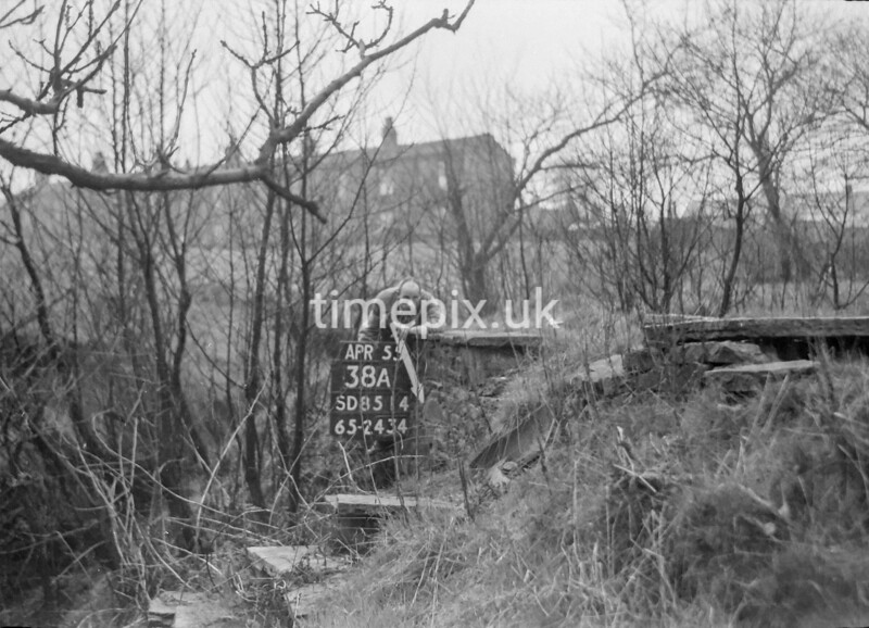SD851438A, Ordnance Survey Revision Point photograph in Greater Manchester