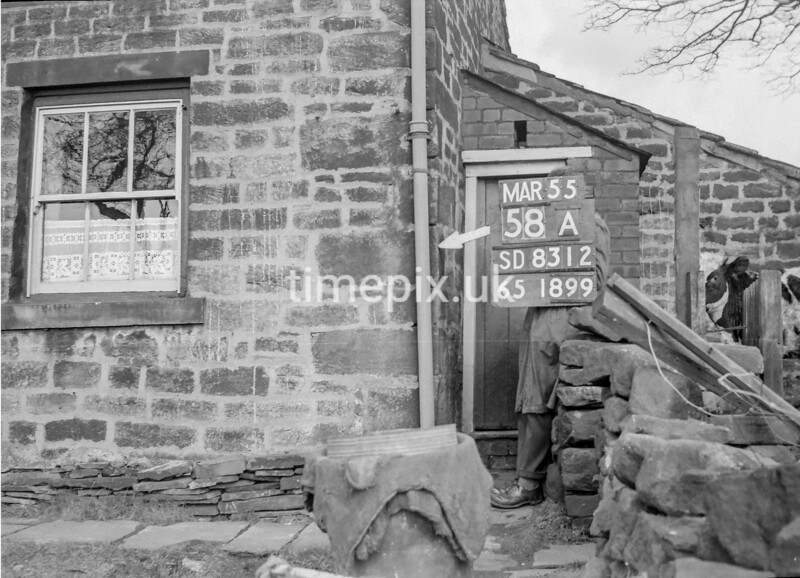 SD831258A, Ordnance Survey Revision Point photograph in Greater Manchester