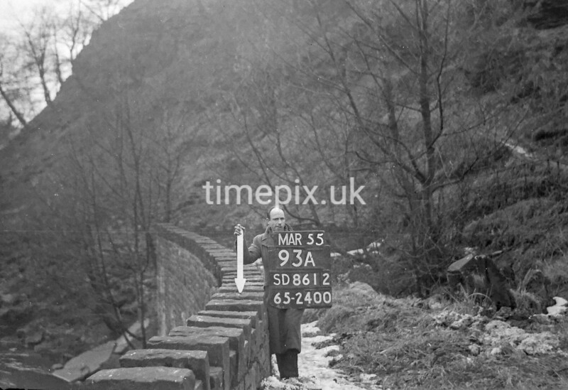 SD861293A, Ordnance Survey Revision Point photograph in Greater Manchester