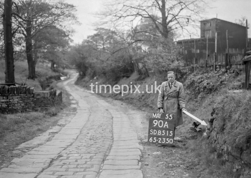 SD851590A, Ordnance Survey Revision Point photograph in Greater Manchester