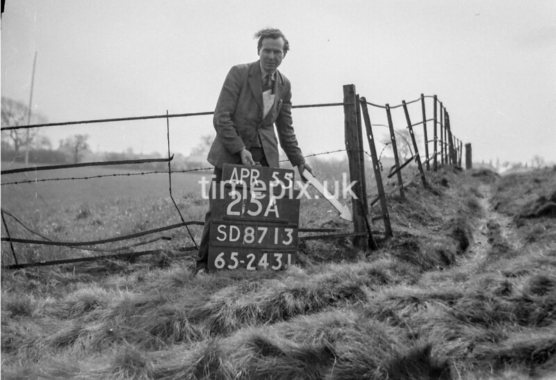 SD871325A, Ordnance Survey Revision Point photograph in Greater Manchester
