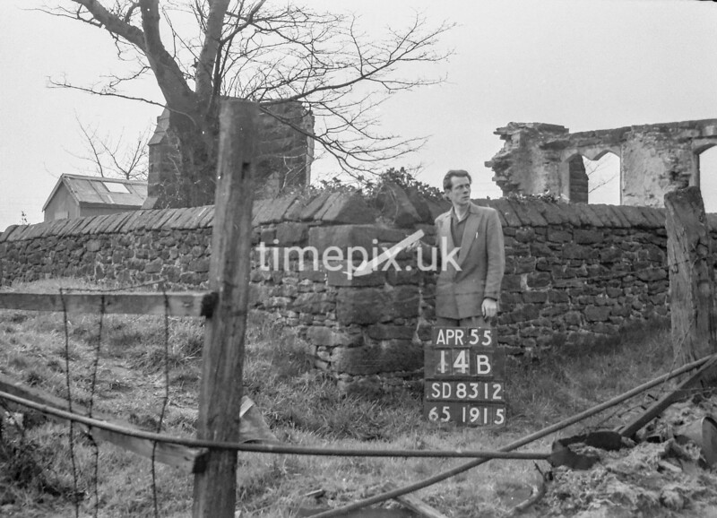 SD831214B, Ordnance Survey Revision Point photograph in Greater Manchester