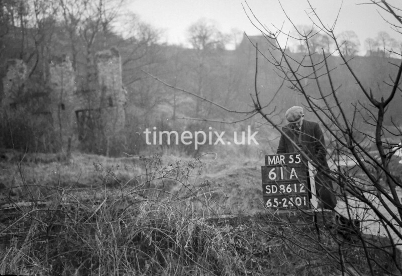 SD861261A, Ordnance Survey Revision Point photograph in Greater Manchester