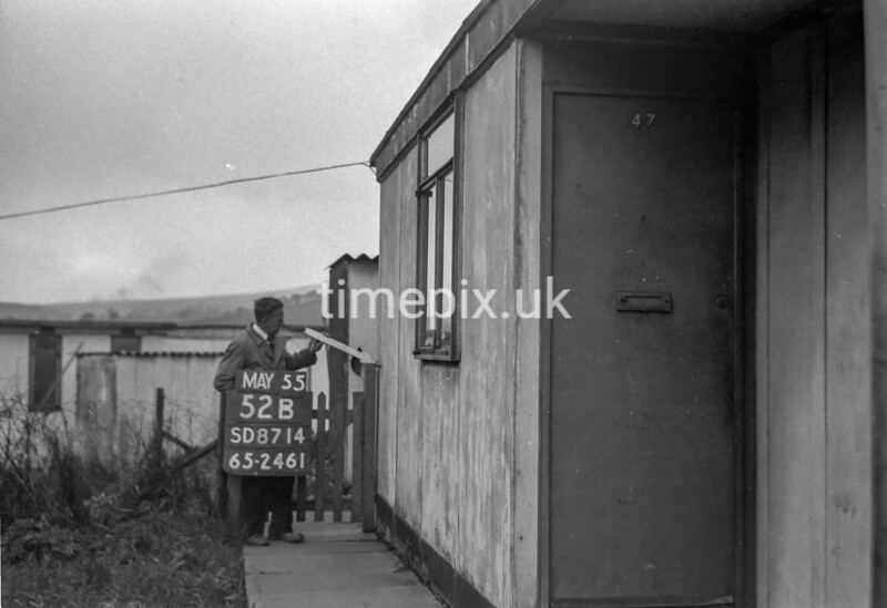 SD871452B, Ordnance Survey Revision Point photograph in Greater Manchester