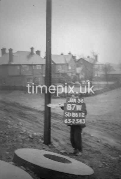 SD861287W, Ordnance Survey Revision Point photograph in Greater Manchester