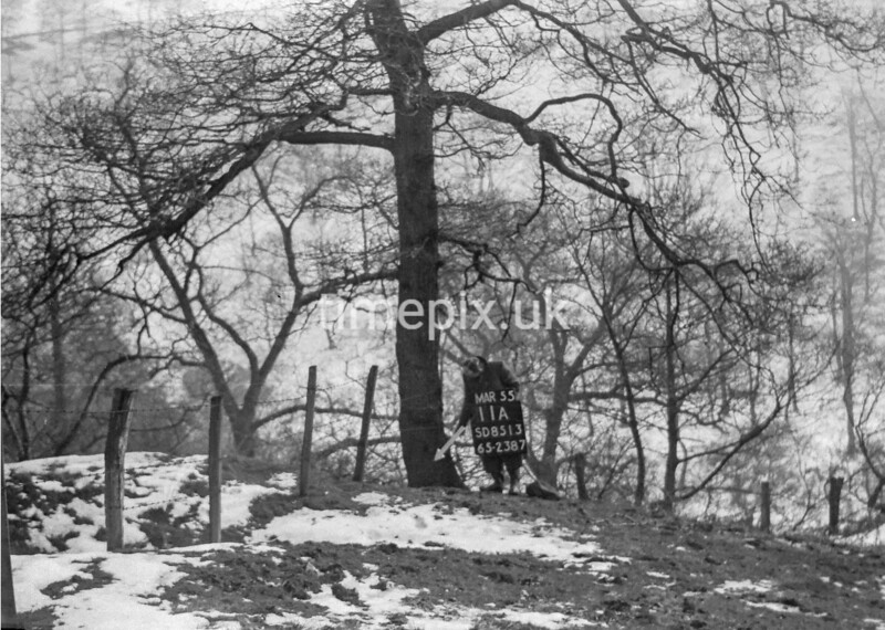 SD851311A, Ordnance Survey Revision Point photograph in Greater Manchester