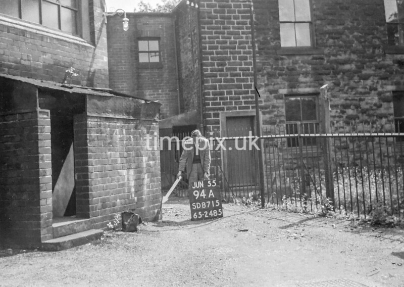 SD871594A, Ordnance Survey Revision Point photograph in Greater Manchester