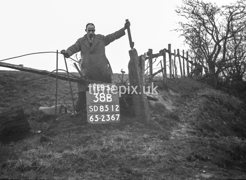 SD851238B, Ordnance Survey Revision Point photograph in Greater Manchester