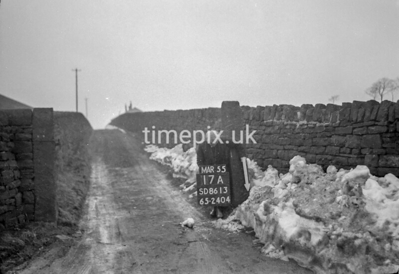 SD861317A, Ordnance Survey Revision Point photograph in Greater Manchester