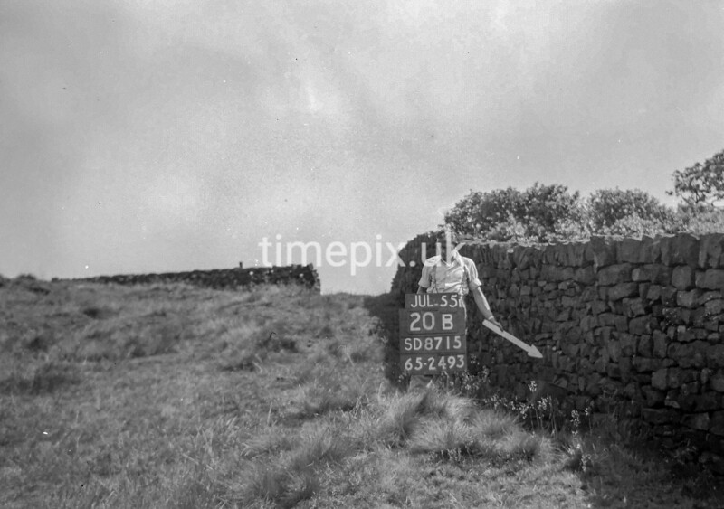 SD871520B, Ordnance Survey Revision Point photograph in Greater Manchester