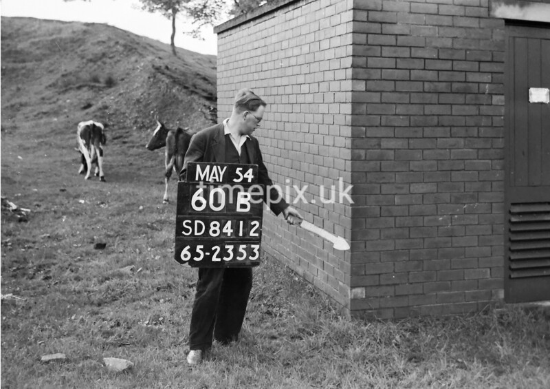 SD841260B, Ordnance Survey Revision Point photograph in Greater Manchester