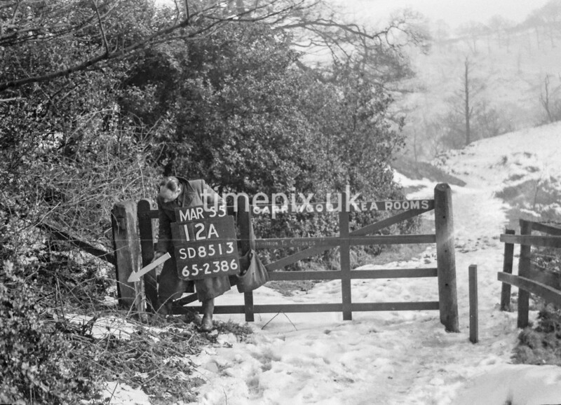 SD851312A, Ordnance Survey Revision Point photograph in Greater Manchester