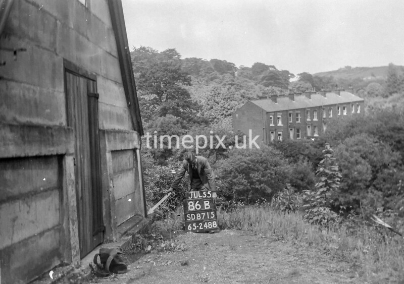 SD871586B, Ordnance Survey Revision Point photograph in Greater Manchester