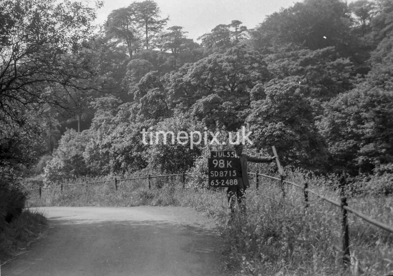 SD871598K, Ordnance Survey Revision Point photograph in Greater Manchester