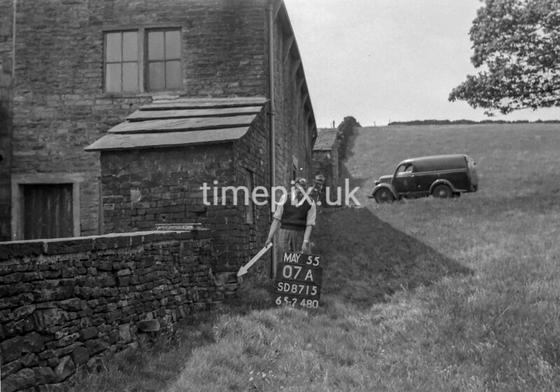 SD871507A, Ordnance Survey Revision Point photograph in Greater Manchester
