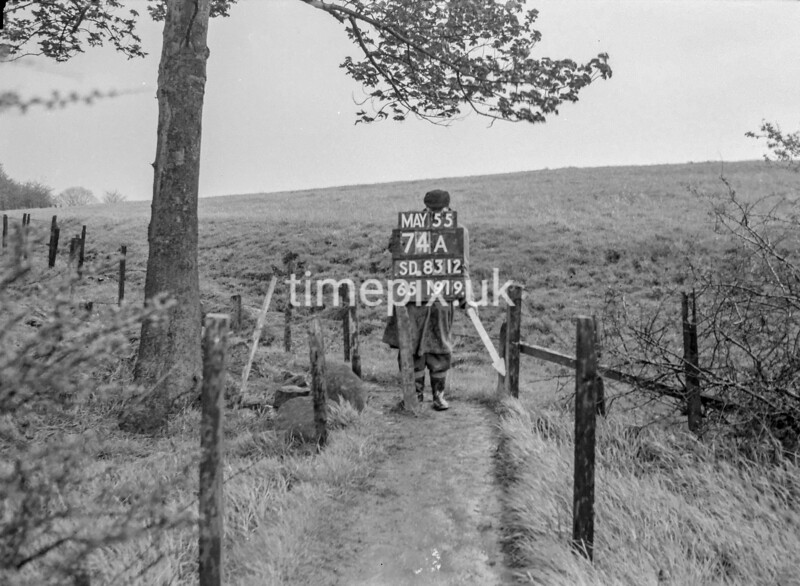SD831274A, Ordnance Survey Revision Point photograph in Greater Manchester