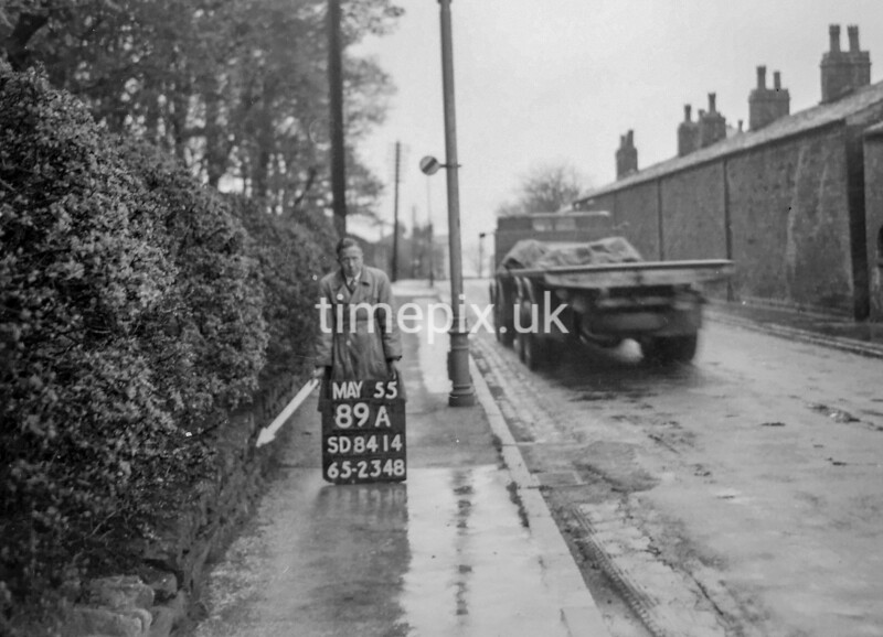 SD841489A, Ordnance Survey Revision Point photograph in Greater Manchester