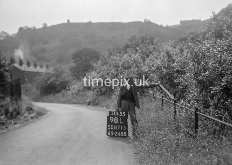 SD871598L, Ordnance Survey Revision Point photograph in Greater Manchester