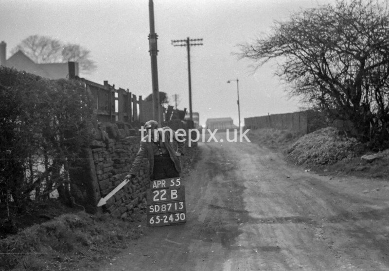 SD871322B, Ordnance Survey Revision Point photograph in Greater Manchester