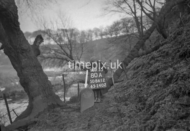 SD861280A2, Ordnance Survey Revision Point photograph in Greater Manchester