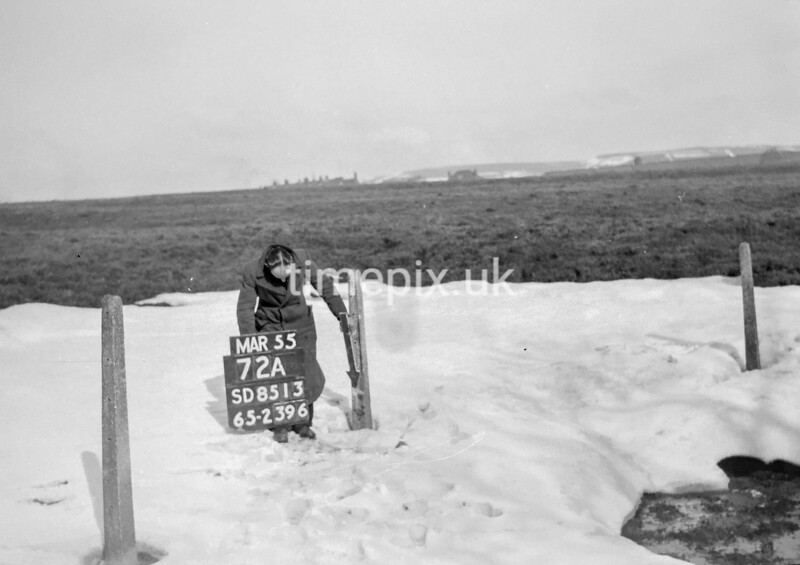 SD851372A, Ordnance Survey Revision Point photograph in Greater Manchester