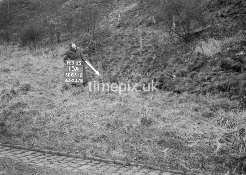 SD851215A, Ordnance Survey Revision Point photograph in Greater Manchester