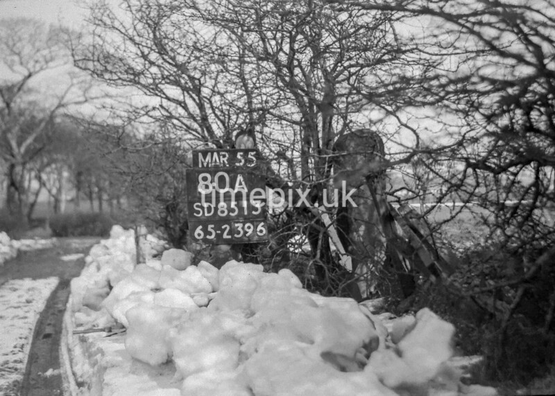 SD851380A, Ordnance Survey Revision Point photograph in Greater Manchester
