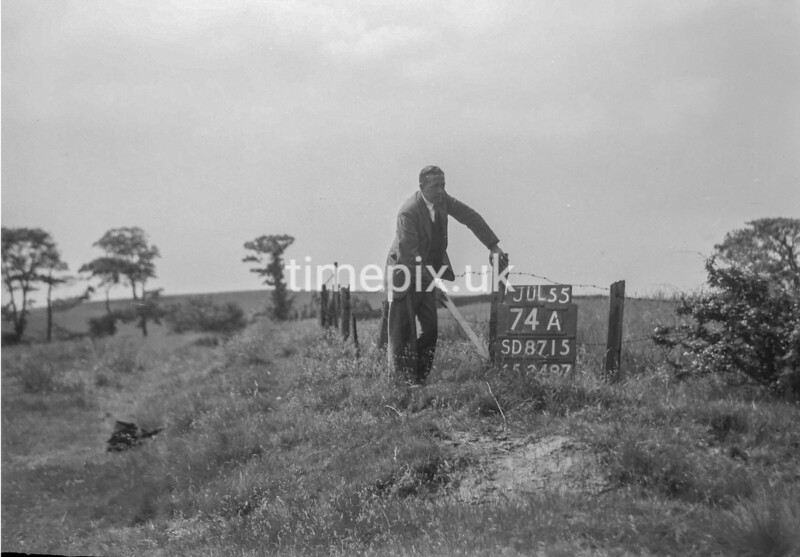 SD871574A, Ordnance Survey Revision Point photograph in Greater Manchester