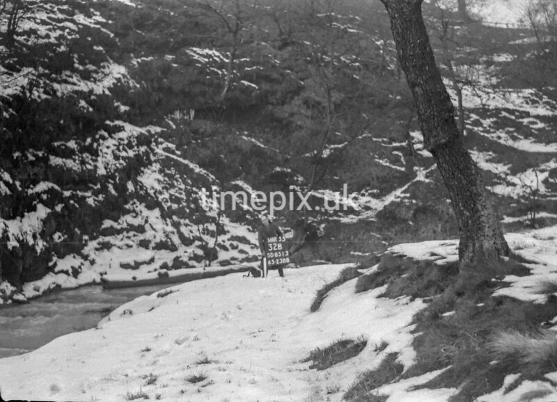 SD851332B, Ordnance Survey Revision Point photograph in Greater Manchester