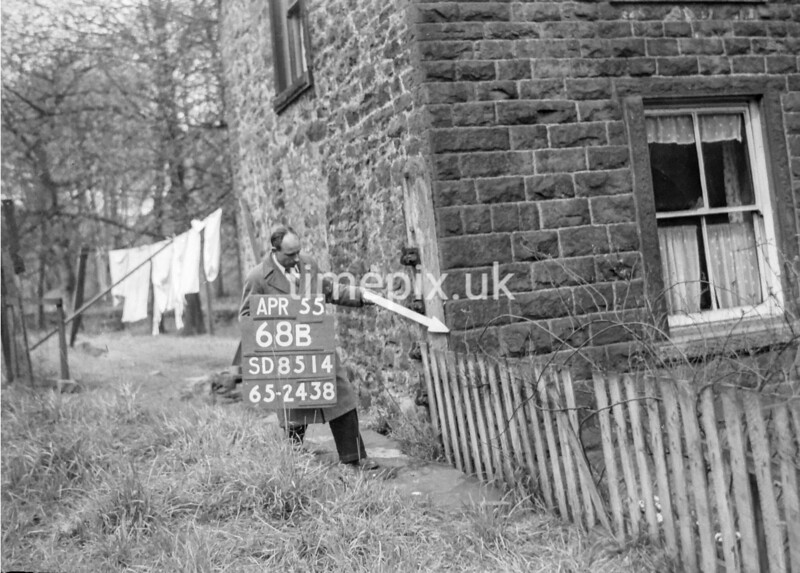 SD851468B, Ordnance Survey Revision Point photograph in Greater Manchester