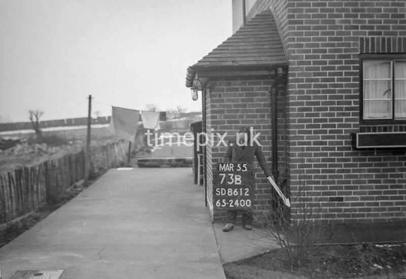 SD861273B, Ordnance Survey Revision Point photograph in Greater Manchester