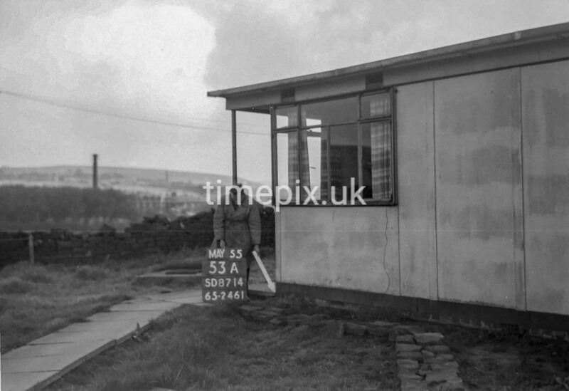 SD871453A, Ordnance Survey Revision Point photograph in Greater Manchester