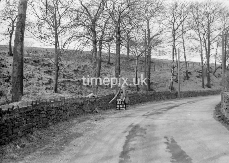 SD831255L, Ordnance Survey Revision Point photograph in Greater Manchester